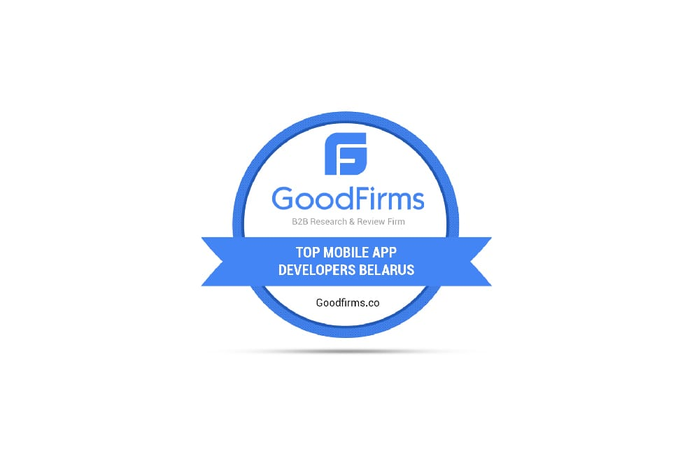 Instinctools acknowledged among the top mobile app development companies in Belarus at GoodFirms