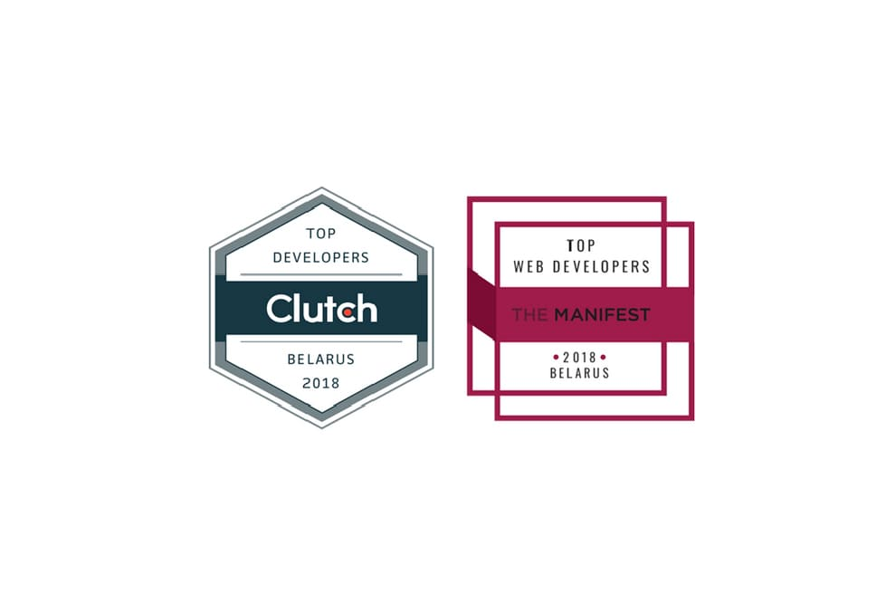 Recent press recognition – *instinctools recognized as a top development shop By Clutch & The Manifest