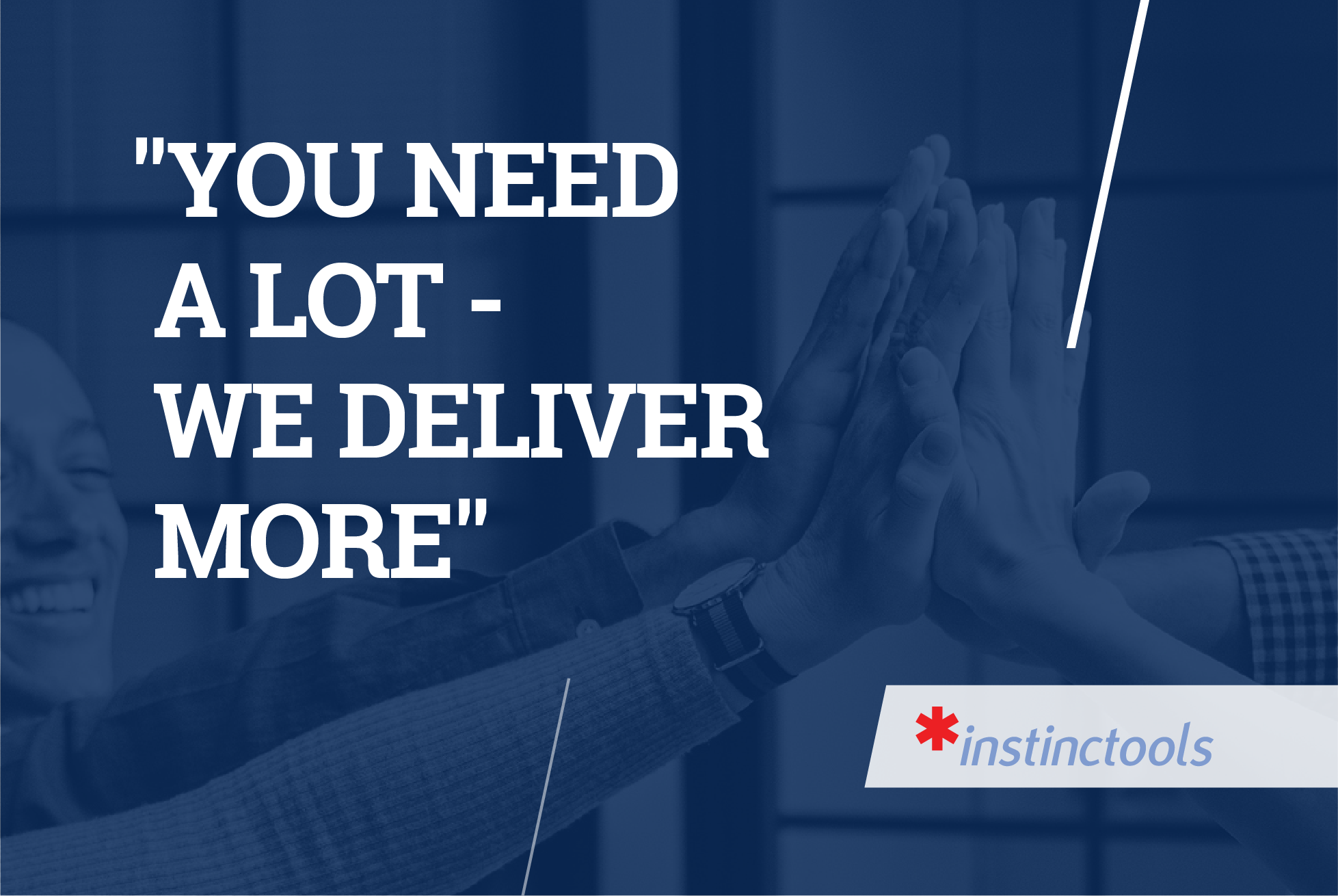 How *instinctools delivers solutions – customers' reviews